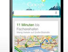 Google Now: Gratis-App für Android und iOS. Bild: google.com