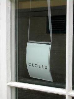Geschlossen - Closed