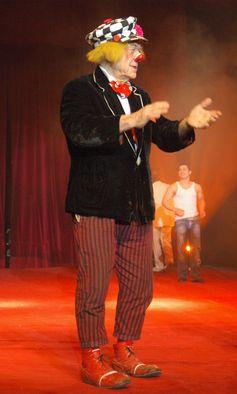 Oleg Popow mit dem Russischen Staatscircus in Worms (2009)