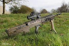 Heckler & Koch Typ SA80 A3 Sturmgewehr