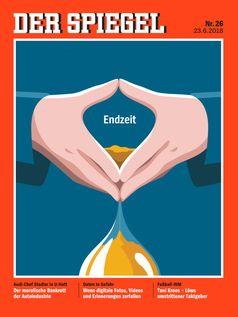 """Die Illustration von Lennart Gäbel traf den Nerv der Cover des Monats-Jury Bild: """"obs/new business"""""""