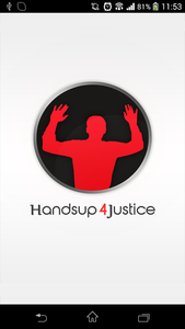 """Hands Up 4 Justice"": Polizei unter Beobachtung. Bild: handsuptheapp.com"