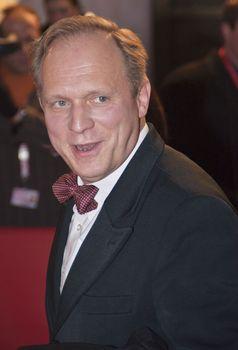 Ulrich Tukur bei der Premiere seines Films John Rabe auf der Berlinale 2009
