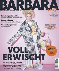 Cover BARBARA Nr. 57 / Bild: Gruner+Jahr, BARBARA Fotograf: Gruner+Jahr, BARBARA