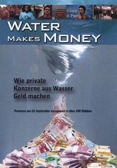 """DVD Cover """"Water Makes Money"""""""