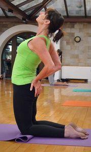 Yoga: Vielversprechender komplementärer Behandlungsansatz. Bild: Martina Mittag