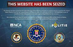 Beschlagnahmt: Seiten liefern kein Cybercrime mehr