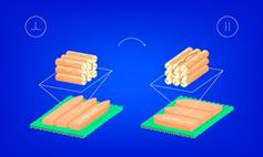 Unterschiedlich orientierte Flüssigkristalle haben Vorteile.