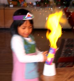 Tischfeuerwerk