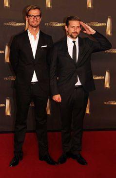 Joko Winterscheidt und Klaas Heufer-Umlauf beim Deutschen Fernsehpreis 2012