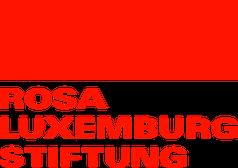 Logo of Rosa Luxemburg Foundation (German version)