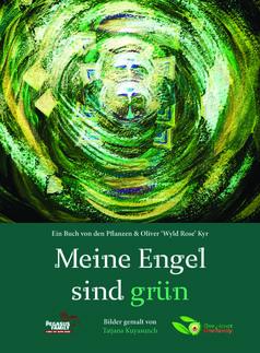 """Buch Cover """"Meine Engel sind grün"""""""