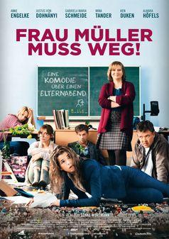 """FRAU MÜLLER MUSS WEG / Plakat. Bild: """"obs/Constantin Film Verleih"""""""