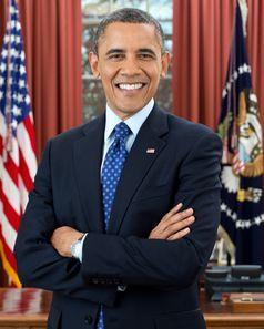 Barack Obama (offizielles Porträtfoto, 2012)