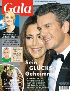 Cover GALA 38/2021 (EVT: 16. September 2021)  Bild: GALA, Gruner + Jahr Fotograf: Gruner+Jahr, Gala