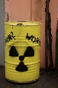 Radioaktiver Müll: OMC verkleinert Problem. Bild: pixelio.de/angieconscious