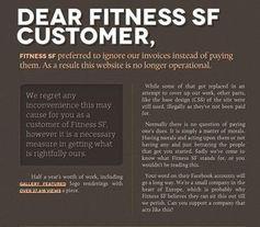 Screenshot: Geprellter Unternehmer in der Offensive. Bild: fitnessfs.com