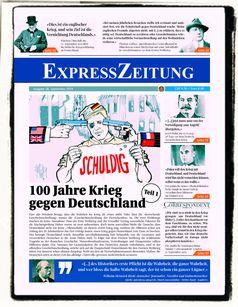 Zeitung: Titelbild der ExpressZeitung Ausgabe 28 (Symbolbild)