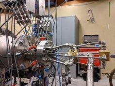RDE auf dem Prüfstand im Labor.
