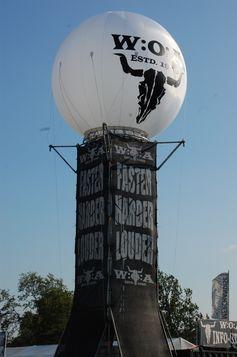 Turm mit Wacken-Symbol, Wacken Open Air 2011