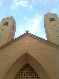 Die koptische St.-Georg-Kirche in Tanta.