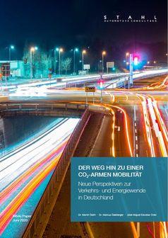 """Studie: Der Weg hin zu einer CO2-armen Mobilität.  Bild: """"obs/Stahl Automotive Consulting"""""""
