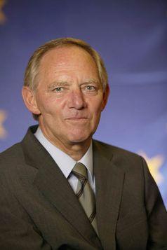 Dr. Wolfgang Schäuble Bild: CDU/CSU-Fraktion