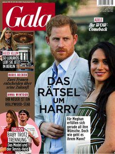 """GALA Cover 45/2020 (EVT: 29. Oktober 2020) /  Bild: """"obs/Gruner+Jahr, Gala"""""""