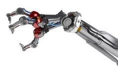 Roboterarm: Bewegung frisst unnötig Strom. Bild: ehu.es