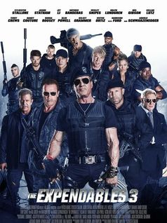 """""""The Expendables 3"""" Kinoposter"""