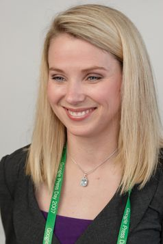 Marissa Mayer auf dem Google Press Day 2007