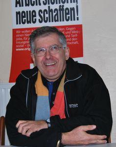 Michael Schlecht, April 2010 in Soest