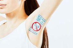 Achsel dient jetzt auch als Werbefläche in Japan.
