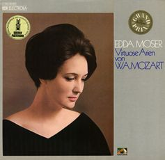 "Album cover for Edda Moser's recording of""Virtuoso Arias by W. A. Mozart"" (EMI 1C 063-29 082)which received the coveted Grand Prix du Disque. Bild: wikipedia.org"