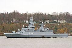 """Die """"Braunschweig"""" ist Typschiff der Klasse K 130. Bild: Torsten Bätge / de.wikipedia.org"""