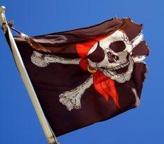 Piratenflagge: Filesharing-Tricks sollen helfen. Bild: Hofschlaeger/pixelio.de