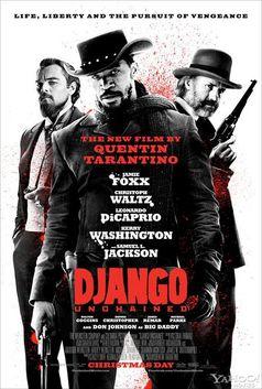 """Kinoposter """"Django Unchained"""""""