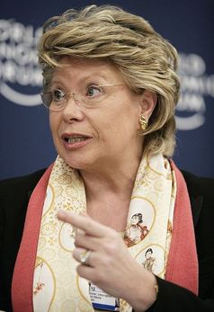 Viviane Reding / Bild: World Economic Forum, de.wikipedia.org