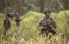 US-Soldaten: Diese sind auch in schwierigem Gelände ortbar.