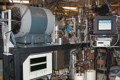 Messplatz für Strahlenschäden in den Sandia National Labs.
