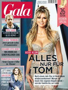 """GALA Cover 11/2020 (EVT: 5. März 2020). Bild: """"obs/Gruner+Jahr, Gala"""""""