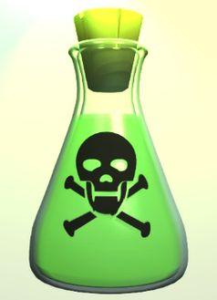 Giftflasche (Symbolbild)