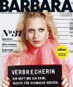 """BARBARA-Cover 31/2018, EVT 08.11.2018 / Bild: """"obs/Gruner+Jahr, BARBARA"""""""