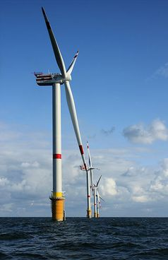 Offshore-Windpark Bild: Hans Hillewaert / wikipedia.org