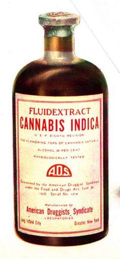 Cannabisextrakt aus dem Jahr 1937