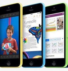 iPhone 5c: Nachfrage deutlich geringer als beim iPhone 5s. Bild: apple.com