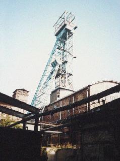 Förderanlage des Schachtes Teutschenthal, Archivbild