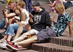 Jugendliche: Verzicht auf Social Media.