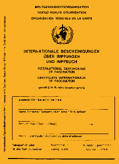 Internationaler Impfausweis