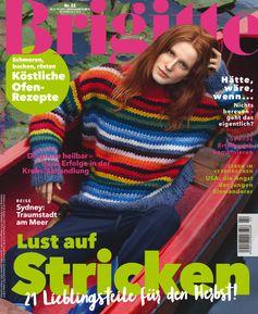 """Brigitte Cover. Ausgabe 22/2017 Bild : """"obs/Gruner+Jahr, BRIGITTE"""""""